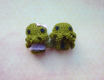 Mr and Mrs Cthulhu - can make on order! by Ulvkatt