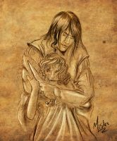 Commission: Evil by elfdust