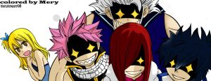 Fairy Tail team chapter 266. by BlueShinigami98