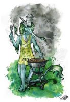 Dragon Cook by Natoli