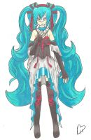 Synchronicity-Miku Alternative Costume 1 (2) Color by ninjjambbong