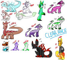 CLEARANCE ADOPTS OPEN by Fluffbutt-Adopts