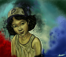 Clementine by p1xer
