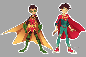 DC: Supersons by RadioMomo