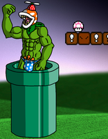 Freckled The Piranha Plant by dragoncima13