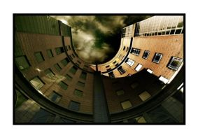 Concave building by yellownoise