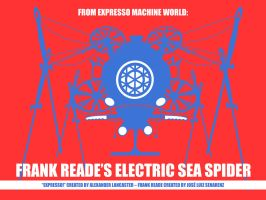 Frank Reade's Sea Spider by AlexandreLancaster