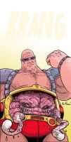 Krang of TMNT by Nick Pitarra by AshcanAllstars
