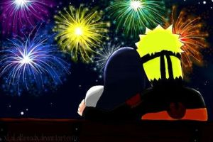 Naruhina Fireworks by xLaLaBreadx