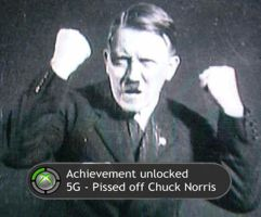 Hitler loves achievements by Cursed-Arcade