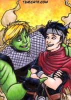 ATC Wiccan + Hulkling by y2hecate