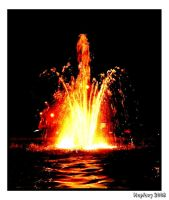 Fountain of Fire by crystalfalls