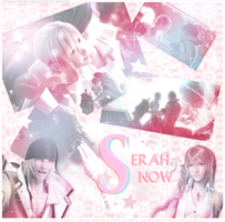 Serah Farron and Snow Villiers by the-sparkling-light