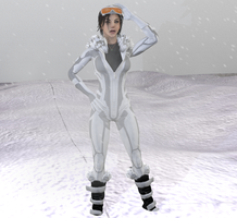 Lara Stealth Snowsuit by lonelygoer