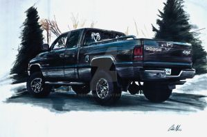 1997 Dodge Ram 1500 by Ness1000
