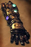 Steampunk Gauntlet For Daniel Proulx by Skinz-N-Hydez