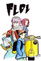 FLCL color by KyubiNabruto