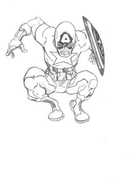 Captain America by tryin2get-there