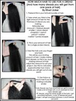 Tutorial: Hair for dreads by angeleyezxtc
