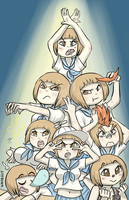 Mako MANKANSHOKU  HALLELUJAH by theamazingwrabbit