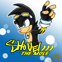 Gift::Shovel the Mole by SpyxedDemon