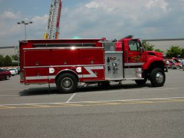 Fire Truck Stock by HauntingVisionsStock
