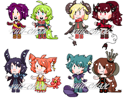 Chibi Adopts {AUCTION CLOSED} by Yuu-Tanni