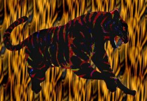 My tiger.. EDIT by drgnheart