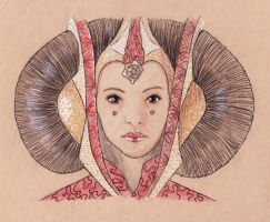Queen Padme by wiegand90