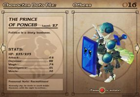 Castelaria Data File 16: The Prince of Ponces by Nidaram