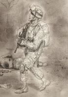 US  marine saw sketch by JesusFood