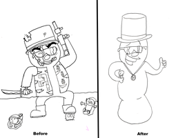 Art HW Before and After by UltraEd12