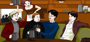 At The Three Broomsticks by girl2004