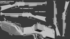"""TF2 Weapon: """"The Winning West"""" by ShakerSilver"""