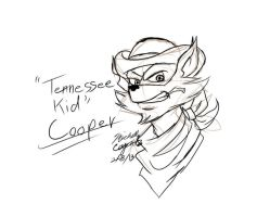 Tennessee Kid Cooper Sketch by mcaputo123187