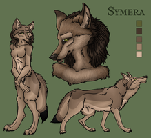 commission - symera char sheet by 00129
