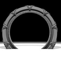 Stargate Model WIP 1 by Stefan1502