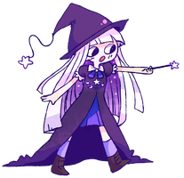 gardevoirloverhope witch gal by ketchup-issues