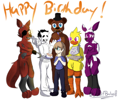 Happy Birthday Cousin! (Birthday Gift) by Wolfbaloo
