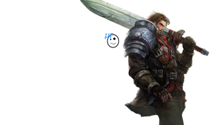 Render: Rugged Garen by HappyFaceStar