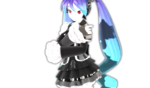 [MMD Photo] Infinite Miku by GrandDibu
