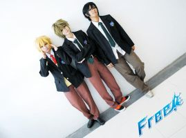 Free! by l3rokenwing