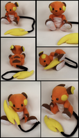 Almost Lifesize Raichu Plush by Mermade4u