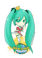 ChibiVocaloid-World is Mine by SiliceB