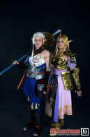 Impa and Zelda by rocknroler