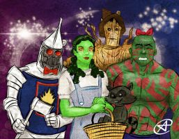 Guardians of the Galaxy / Wizard of Oz mashup by photon-nmo