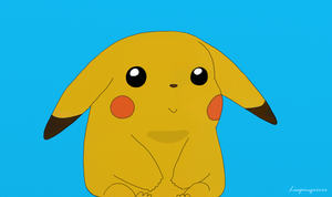 Pikachu With Shading by Leapingriver