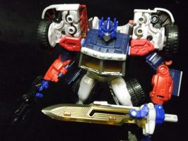 Join the Autobot cause with G2 Optimus! by forever-at-peace