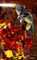 Transformers - Clash of titans by Ahrrr