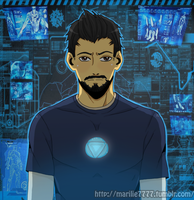 Tony Stark by marilie7777